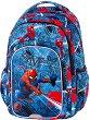 Ученическа раница с LED светлини - Spark L: Spiderman Denim -