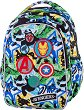 Ученическа раница - Joy S: Avengers Badges -