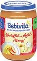Bebivita - Пюре от картофи с ябълка - Бурканче от 190 g за бебета над 6 месеца -