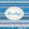 Салфетки за декупаж - It's a boy! - Пакет от 20 броя -