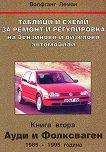 Таблици и схеми за ремонт и регулировка на бензинови и дизелови автомобили - книга 2: Ауди и Фолксваген 1985 - 1995 година - Волвганг Леман -