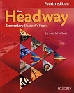 New Headway - Elementary (A1 - A2): Учебник по английски език : Fourth Edition - John Soars, Liz Soars -