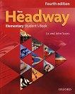 New Headway - Elementary (A1 - A2): Учебник по английски език : Fourth Edition - John Soars, Liz Soars - книга