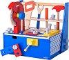 Сандъче с детски инструменти - Дървен комплект за игра -