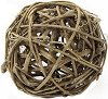Декоративна топка от ратан - С диаметър ∅ 9.8 cm