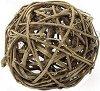 Декоративна топка от ратан - С диаметър ∅ 9.8 cm -