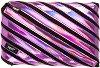 """Ученически несесер - Purple - От серията """"Zipit: Metallic"""" -"""