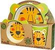 Детски комплект за хранене - Тигър -