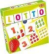 Лото - Плодове и числа - Детска образователна игра -