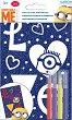 """Оцветявай с флумастери - Миньони - Творчески комплект от серията """"Аз, проклетникът"""" -"""