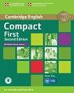Compact First -  ниво B2: Учебна тетрадка : Учебен курс по английски език - Second Edition - Peter May -