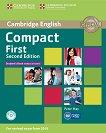 Compact First -  ниво B2: Учебник Учебен курс по английски език - Second Edition -