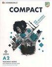 Compact Key for Schools - Ниво A2: Книга за учителя : Учебен курс по английски език - Second Edition - Emma Heyderman, Jessica Smith -