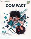 Compact Key for Schools - Ниво A2: Учебник с онлайн тетрадка Учебен курс по английски език - Second Edition -