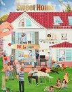 Създай своята къщичка - книжка за оцветяване -