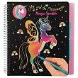Еднорог: Магическа скреч книжка за оцветяване -