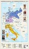 Стенна карта: Обединение на Италия 1861 - 1870 г. Обединение на Германия 1866 - 1871 г. -