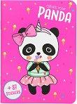 Панда: Облечи своето малко приятелче - книга