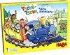 Цветен влак - Детска състезателна игра -