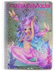 Топ модел: Fantasy mermaid - книжка за оцветяване -