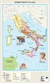 Стенна карта: Древният Рим VІІІ - ІІІ в. пр. Хр. -