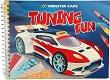 Създай свои Monster Cars Tuning - джобна книжка за оцветяване -