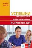 Успешни на Националното външно оценяване по испански език в 10. клас - ниво B1 -