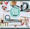 Детски дървен конструктор - Zig and Go - Комплект от 28 елемента -