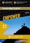 Empower - Advanced (C1): Class DVD с видеоматериали по английски език - учебна тетрадка