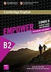 Empower - Upper Intermediate (B2): Комплект по английски език Combo B - част 2 + онлайн материали -