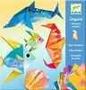 Оригами - Животни от океана - Творчески комплект - помагало