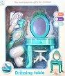 Салон за красота за кукли - Комплект за игра със светлинни и звукови ефекти -