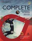 Complete Preliminary for Schools - Ниво B1: Учебник без отоговори + онлайн упражнения -