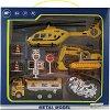 """Строителна площадка - Детски комплект за игра с аксесоари от серията """"City Simulator"""" -"""
