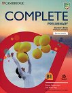 Complete Preliminary - Ниво B1: Учебник + онлайн упражнения - Peter May, Emma Heyderman -