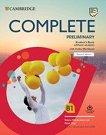Complete Preliminary - Ниво B1: Учебник + онлайн учебна тетрадка - Second Edition -