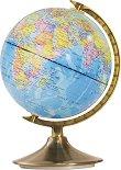 Светещ глобус: Ден и нощ - диаметър 21 cm -
