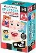 """Емоции и действия - Детска мемо игра от серията """"Headu: Методът Монтесори"""" -"""