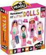 """Облечи куклите - Детски комплект за игра от серията """"Headu: Методът Монтесори"""" -"""