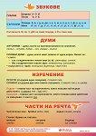 Учебно табло по български език за 4. клас - табло