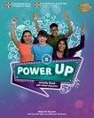 Power Up - Ниво 6: Учебна тетрадка с онлайн материали : Учебна система по английски език - Melanie Starren, Caroline Nixon, Michael Tomlinson -