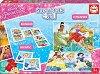 Принцесите на Дисни - 4 в 1 - Комплект от 2 игри и 2 пъзела - филм