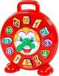 Сортер - Часовник с клоун - Образователна играчка за сортиране -