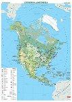 Стенна стопанска карта на Северна Америка - M 1:9 000 000 -