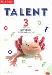 Talent - Ниво 3: Учебна тетрадка с онлайн упражнения : Учебна система по английски език - Annie Cornford -