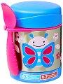 """Термоконтейнер за храна - Пеперудата Блосъм 325 ml - За бебета над 12 месеца от серията """"Zoo"""" -"""