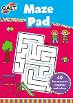 Galt: Книжка с лабиринти : Maze Pad - книга