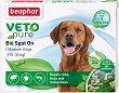 Beaphar Veto Pure Bio Spot On Dog - Репелентни капки за кучета от средни породи - опаковка от 3 пипети -