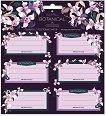 Етикети за тетрадки - Botanic Orchid -