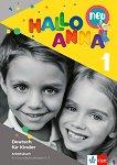 Hallo Anna - Ниво 1: Учебна тетрадка : Учебна система по немски език за деца - Olga Swerlowa - учебна тетрадка